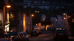 Brighton at night Stock Footage