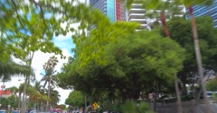 Skyscrapers Brickell Stock Footage