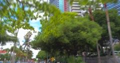 Skyscrapers Brickell Stock Footage