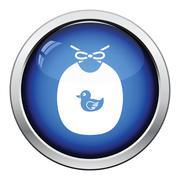 Bib icon - stock illustration