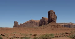 Monument Valley. Valley of Rocks. - stock footage