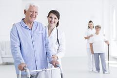 Always ready to help my patients - stock photo