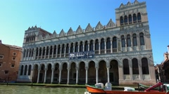 National History Museum in Venice Italy Stock Footage