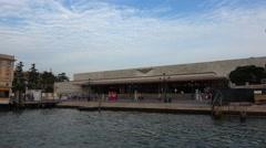 Ferrovia Railway station in Venice - Santa Lucia Stock Footage