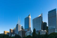 Sydney Central Business District skyline Kuvituskuvat