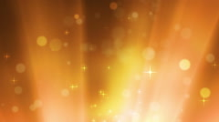 Moving Stars And Lights With Rays Stock Footage