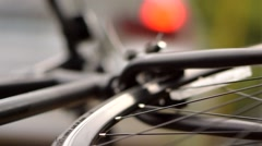 Bicycle Accident Stock Footage