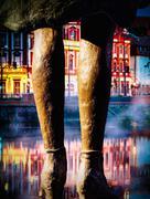 Woman 's legs - stock photo