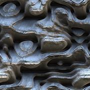 Mineral close up 3d illustration - stock illustration