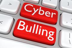 Cyber Bullying concept Stock Illustration