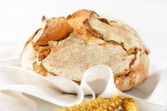 Fresh artisan bread Stock Photos