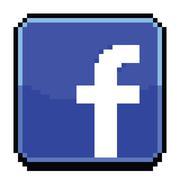 8 Bit Facebook Icon Piirros