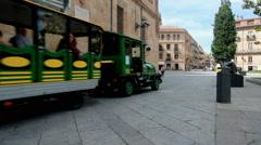 Tourists in Salamanca, Spain Stock Footage