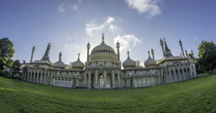 The Brighton Royal pavilion Stock Footage