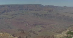Grand Canyon Landscape Shot with Stream Stock Footage