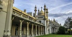 Brighton Royal pavilion - stock footage