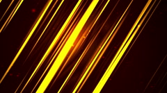 Elegant Luxuary Lines Gold Loopable Background Stock Footage