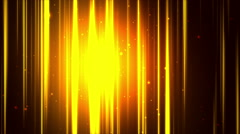 Gold Vertical Streaks Loopable Background - stock footage