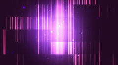 Smooth Fractal Lines Purple Loopable Background - stock footage