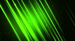 Elegant Slanting Lines Green Loopable Background Stock Footage