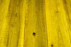 Old yellow wood texture background Stock Photos