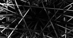 Polygonal geometric surface. 4k. Stock Footage