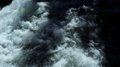 White water rapids, Yellowstone National Park, Wyoming Stock Footage