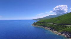 Mediterranean island beautiful nature Stock Footage