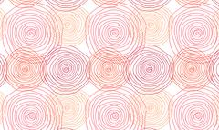 Seamless ornament with spiral Stock Illustration