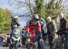 Conflans-Sainte-Honorine,France-March 6,2016: The Cyclist Philippe Gilbert Stock Photos