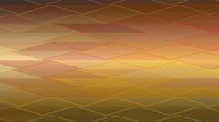 Abstract triangles bands moving background Stock Footage