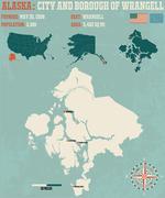 City and Borough of Wrangell Alaska USA Piirros
