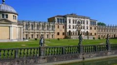 Padua - Villa Contarini - The front-side Stock Footage