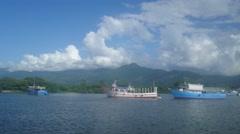 Port of La Ceiba Stock Footage