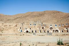 Matmata museum in Tunisia Stock Photos