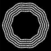 Algorithm, Data Code, Decryption and Encoding Stock Illustration