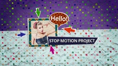 Paper Motion Stock After Effects