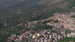 Tivoli aerial Stock Footage