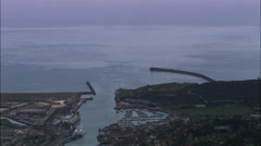 Newhaven - Passing Shot Stock Footage