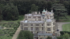 Audley End House C/U Stock Footage