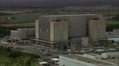 Sizewell B Nuclear Power Station Stock Footage