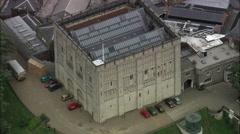 Norwich Castle C/U Stock Footage