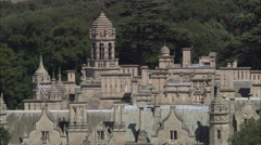 Harlaxton Manor C/U Stock Footage