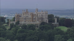 Belvoir Castle C/U Stock Footage
