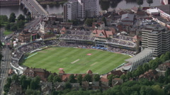 Edgbaston Cricket Ground England V Australia Test Series 2005 Stock Footage