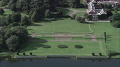 Clumber Park - Gardens On The Water's Edge Stock Footage