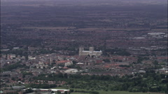 York And York Minster Stock Footage
