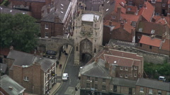 York City Walls And Gates C/U Stock Footage