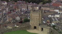 Richmond Castle Stock Footage