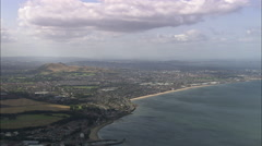 Over Arthur's Seat - stock footage